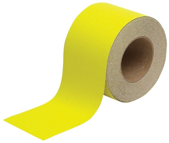 Brady Anti-Skid Floor Tapes Color: Yellow; W: 10.16cm (4 in.):Racks, Boxes,