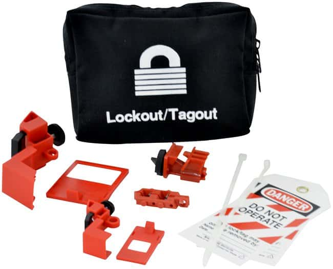 Brady Lockout Pouch Kit without Lock Canvas; 2 in. x 7 in. x 6 in.:Gloves,