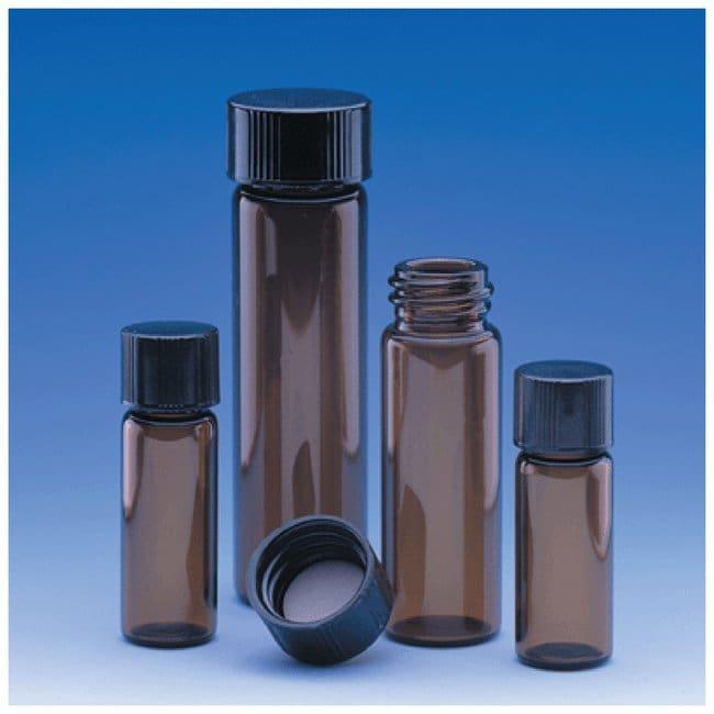 DWK Life Sciences Wheaton E-C Borosilicate Glass Screw Thread Sample Vials