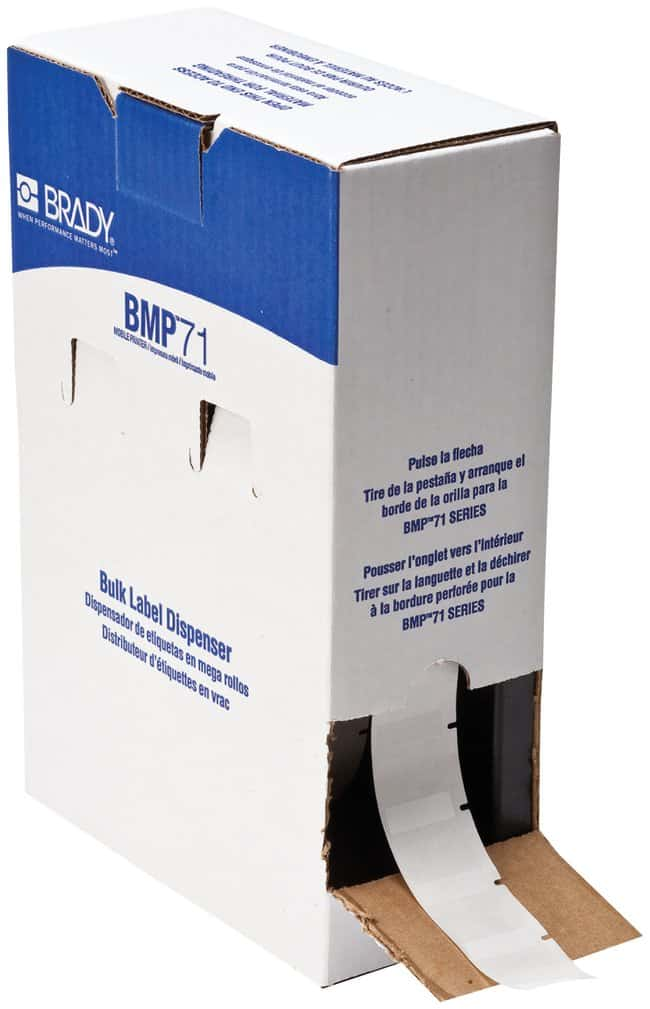 Brady WorkHorse B-423 Permanent Polyester Labels:Gloves, Glasses and Safety:Facility