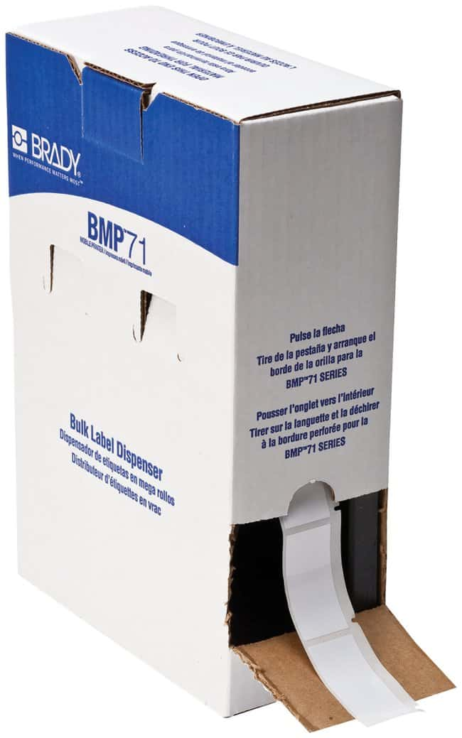 Brady Workhorse B 423 Permanent Polyester Labels Office Supplies Facility Maintenance And Safety