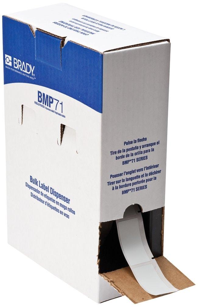 Brady™MetaLabel™ B-428 Metallized Polyester BMP71 Labels W x H: 50.8 x 25.4mm (2 x 1 in.) Brady™MetaLabel™ B-428 Metallized Polyester BMP71 Labels