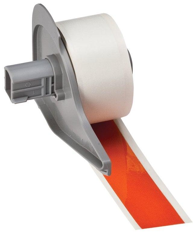 Brady™Reflektierende Etiketten (B-584) Breite: 2.54cm (1Zoll); Orange Brady™Reflektierende Etiketten (B-584)