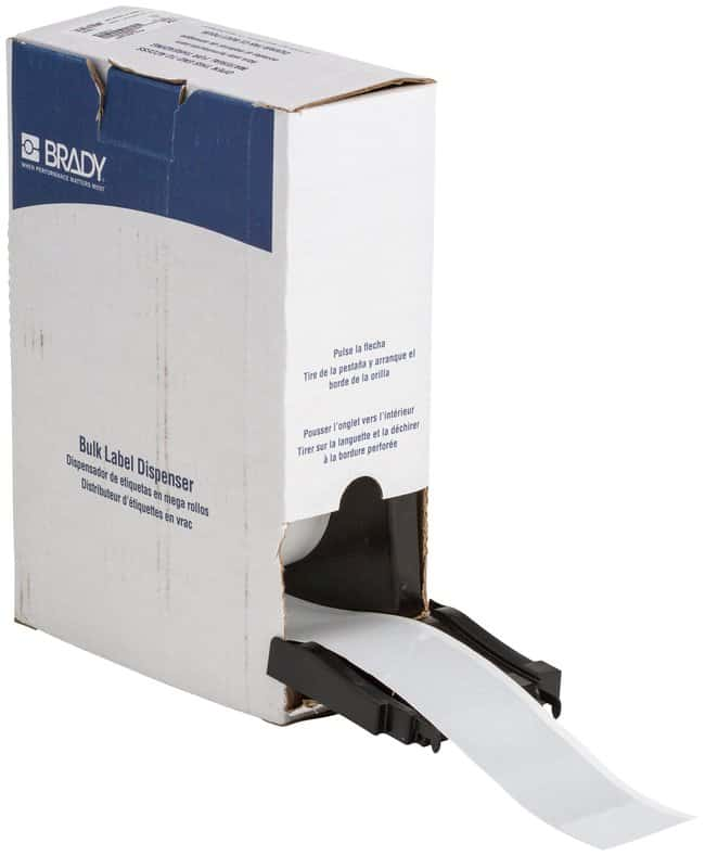 Brady Reflective Labels (B-584) Width: 5.08cm (2 in.); White:Gloves, Glasses