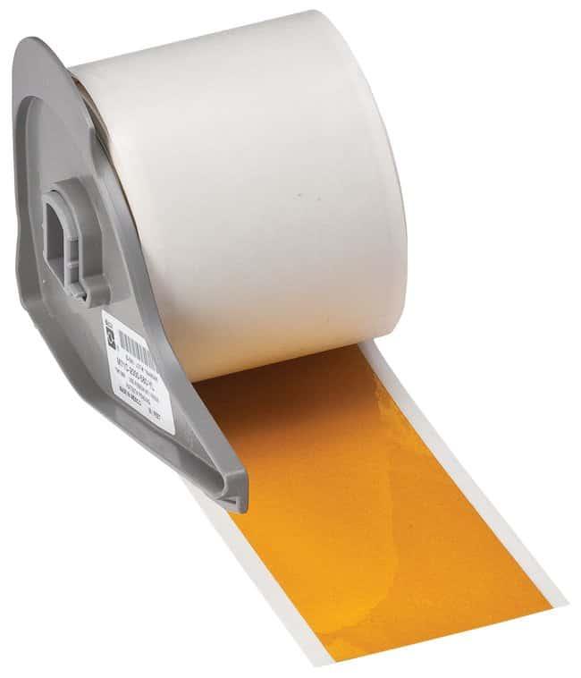 Brady™ Reflective Labels (B-584) Width: 5.08cm (2 in.); Yellow Brady™ Reflective Labels (B-584)