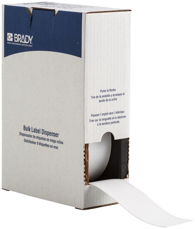 Brady ToughWash Metal Detectable Label Material for BMP71 Printer:Gloves,