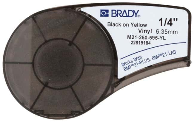 Brady Indoor/Outdoor Vinyl Label Cartridges :Gloves, Glasses and Safety:Facility