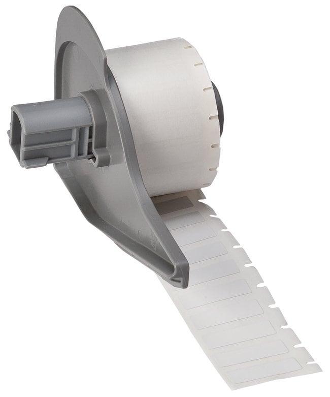 Brady™WorkHorse™ B-423 Permanent Polyester Labels W x H: 25.4 x 6.9mm (1 x 0.275 in.) Brady™WorkHorse™ B-423 Permanent Polyester Labels