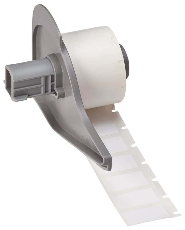 Brady™WorkHorse™ B-473 Glossy White Polyester Electrostatic Dissipative Labels W x H: 25.4 x 12.7mm (1 x 0.5 in.) Brady™WorkHorse™ B-473 Glossy White Polyester Electrostatic Dissipative Labels