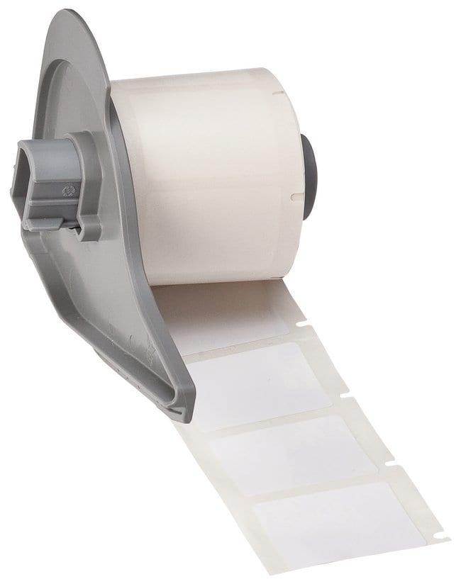 Brady™ToughBond™ B-483 Hochglanz-Polyesteretiketten mit ultrafestem Kleber Bx H: 34.9 x 25.4mm (1.375 x 1in.) Brady™ToughBond™ B-483 Hochglanz-Polyesteretiketten mit ultrafestem Kleber