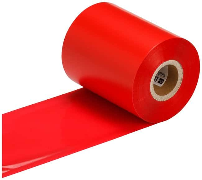 Brady 4500 Series Thermal Transfer Ribbons Red; Size: 83.06mm x 299m (3.27