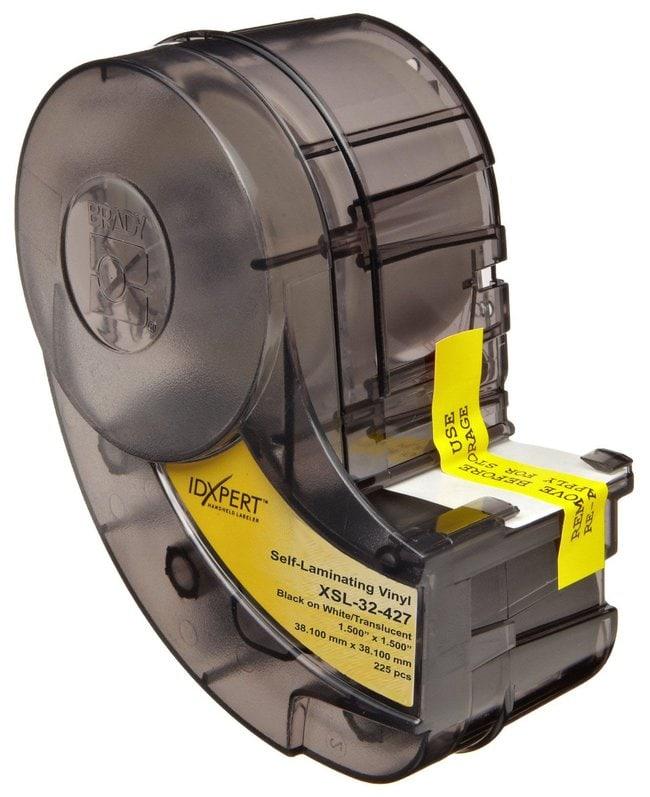 Brady™IDXPERT™ B-427 selbstlaminierende Markierungsetiketten für Sprach- und Datenkommunikationskabel Schwarz auf weiß; B x H: 38.1 x 38.1mm (1.5 x 1.5Zoll); 225Etiketten/Rolle Brady™IDXPERT™ B-427 selbstlaminierende Markierungsetiketten für Sprach- und Datenkommunikationskabel