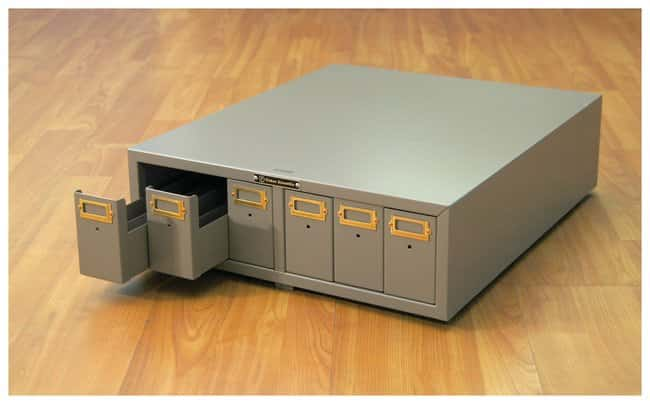 Fisherbrand™Micro Slide Storage Cabinets, Dark Beige