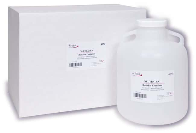 Scigen Neutralex Volumetric Calibrated Reaction Container 2.5 gal. Reaction