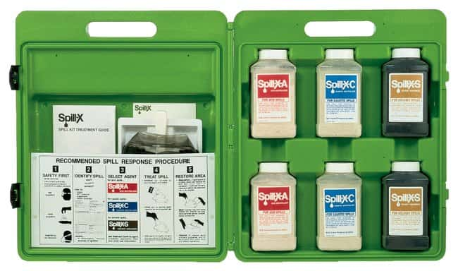 Ansul™ SPILL-X™ Agents Spill Treatment Kits