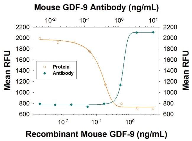 GDF-9 Rat anti-Mouse, Clone: 785123, R::