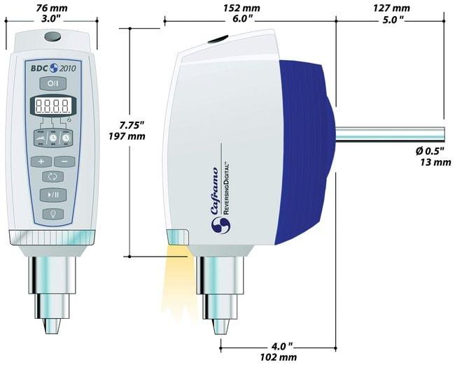 Caframo ReversingDigital Stirrer Reversing Digital; 40-2010 rpm