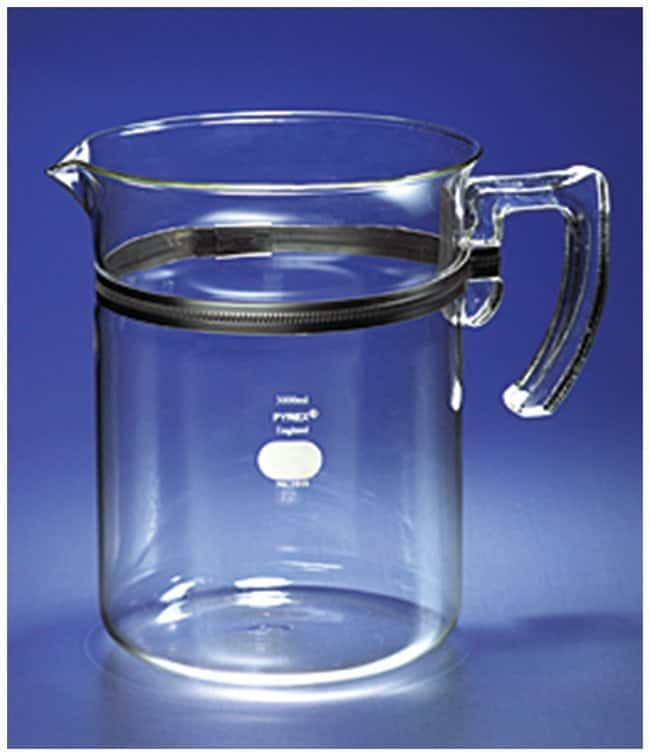 PYREX™ Beaker with Glass Handle
