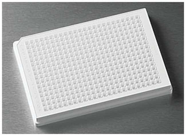 Corning™ 384-Well Solid Black or White Polystyrene Microplates White; non -treated; round bottom Corning™ 384-Well Solid Black or White Polystyrene Microplates