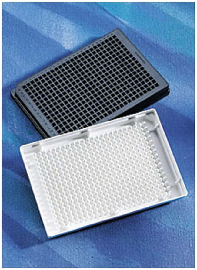 Corning 384-Well Solid Black or White Polystyrene Microplates Black; high-binded;