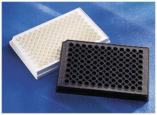 Corning™ 96-Well Solid Black or White Polystyrene Microplates Black; Standard; No; None; Flat Corning™ 96-Well Solid Black or White Polystyrene Microplates