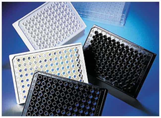 Corning™ 96-Well Half Area Black Flat Bottom Polystyrene Microplates