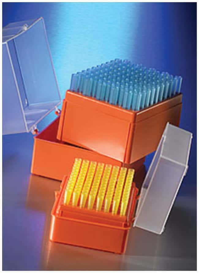 Corning™ Universal Fit Hinged Rack Pipet Tips, Nonsterile