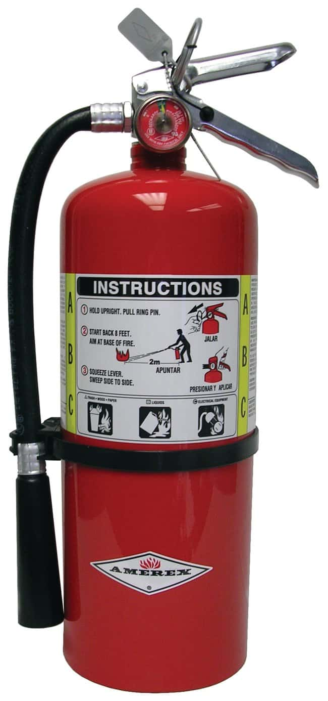 Amerex ABC Dry Chemical Fire Extinguishers Aluminum; 6 lb.:First Responder