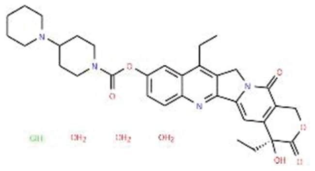 Irinotecan hydrochloride trihydrate, Acros Organics™