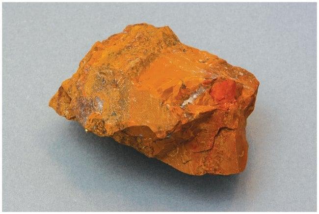 American Educational ProductsIndividual Mineral Specimen: Quartz, Jasper, Red Yellow