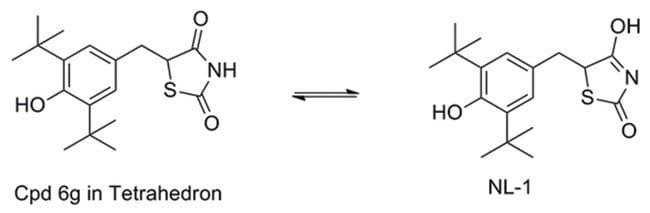 MilliporeSigma Calbiochem mitoNEET Inhibitor NL-1, Thiazolidinedione 10mg:Life