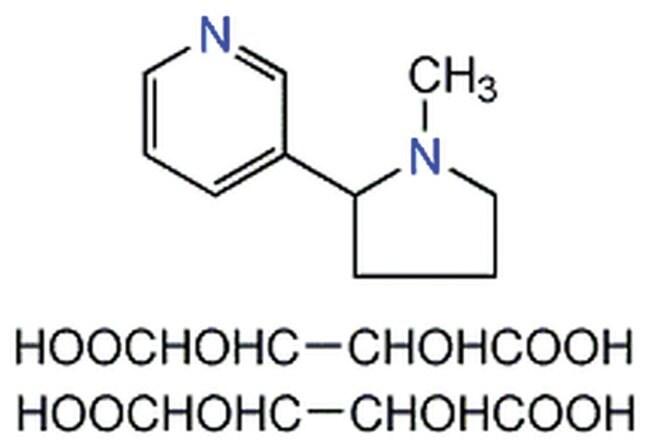 MilliporeSigma Calbiochem (--)-Nicotine, Ditartrate 100mg:Life Sciences