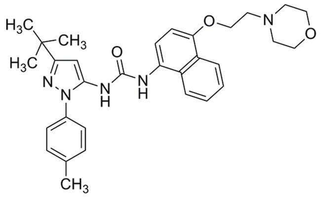 MilliporeSigmaCalbiochem p38 MAP Kinase Inhibitor X, BIRB 796 10mg:Protein