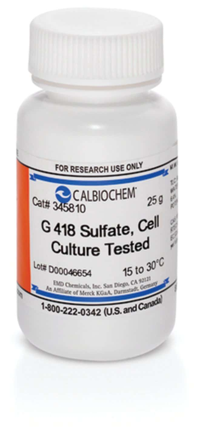 MilliporeSigma™ Calbiochem™ Cell Culture Tested G 418 Sulfate