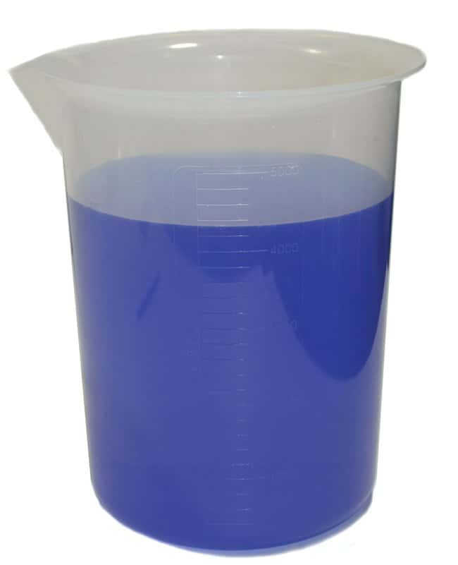Eisco™Polypropylene Beakers with Spout