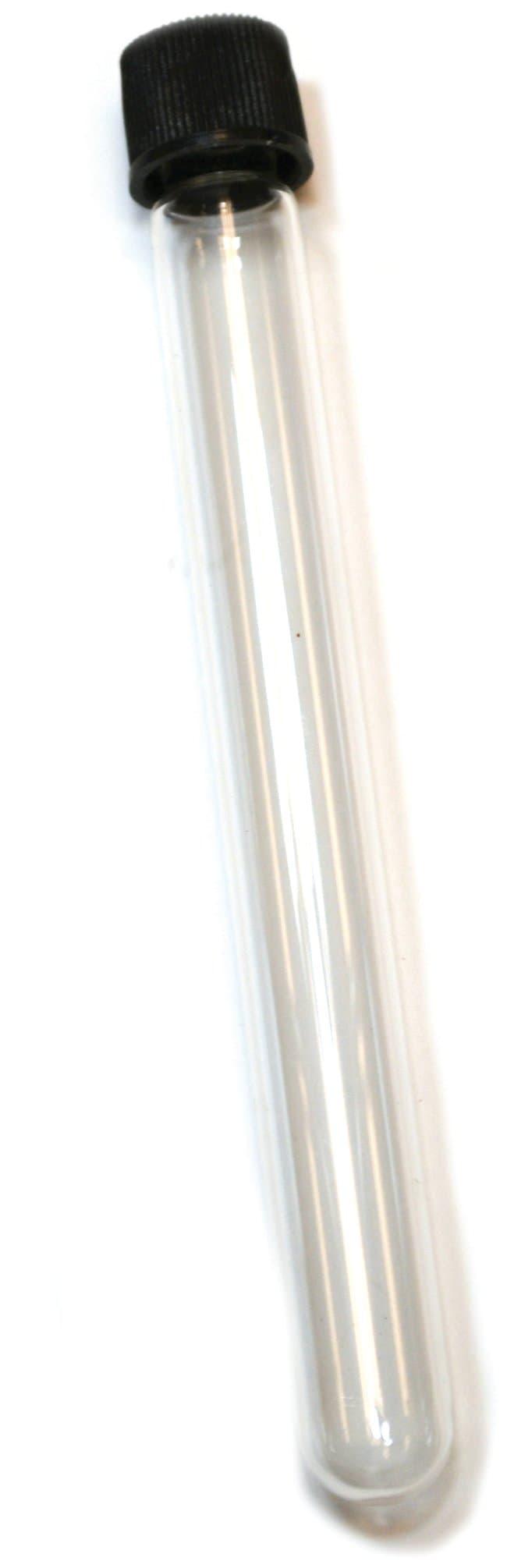 Eisco™Glass Test Tube with Screw Cap