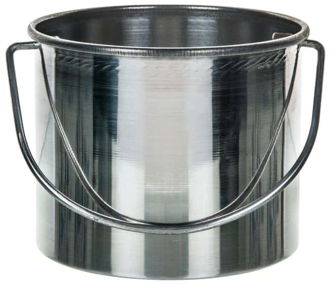 EiscoCatch Bucket with Handle 100 x 80mm (4 x 3.15 in.):Facility Safety