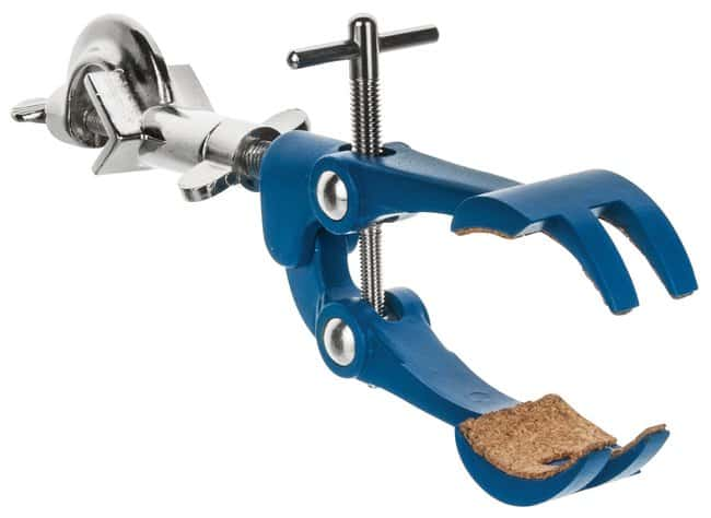 EiscoPremium Four Prong Clamp w/ Boss Head:Clamps and Supports