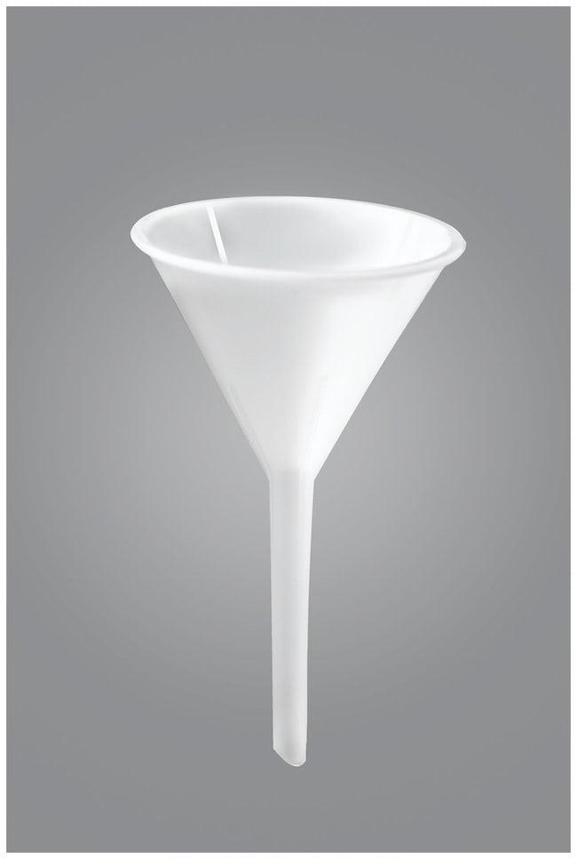 Bel-Art SP Scienceware Polypropylene Long-Stemmed Funnels  Top I.D.: 70mm;