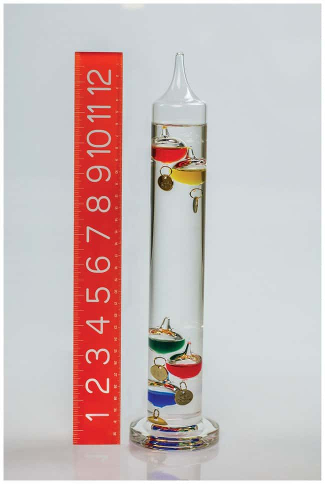 H-B Instrument Durac Galileo Thermometers Temp. range: 64° to 80°F;