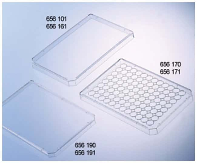 Greiner Bio-One High Profile Polystyrene Microplate Lids:Dishes, Plates