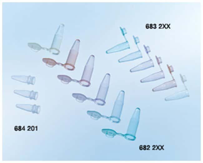 Greiner Bio-One Sapphire PCR Tubes with Attached Frosted Flat Cap:Life