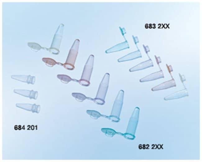 Greiner Bio-OneSapphire PCR-Röhrchen mit angebrachter mattierter flacher Kappe Vol.: 0.5ml; Violett Greiner Bio-OneSapphire PCR-Röhrchen mit angebrachter mattierter flacher Kappe
