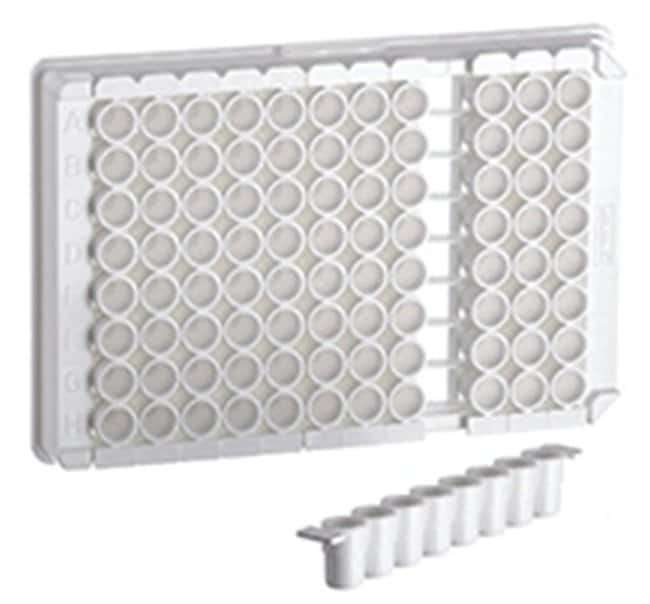 Greiner Bio-One LUMITRAC 96-Well Strip Plate, Single-break:Dishes, Plates