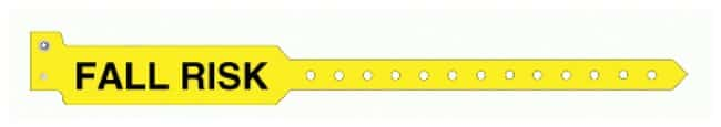 PDC Healthcare Sentry SuperBand Alert Bands Adult; Yellow; FALL RISK:Healthcare