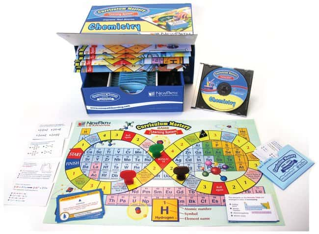 NewPath Learning™Chemistry Curriculum Mastery Game