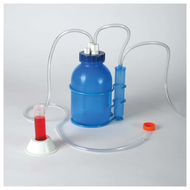 Bel-Art™SP Scienceware™ Polypropylene, Vacuum Aspirator Bottle 3.8 L Bel-Art™SP Scienceware™ Polypropylene, Vacuum Aspirator Bottle