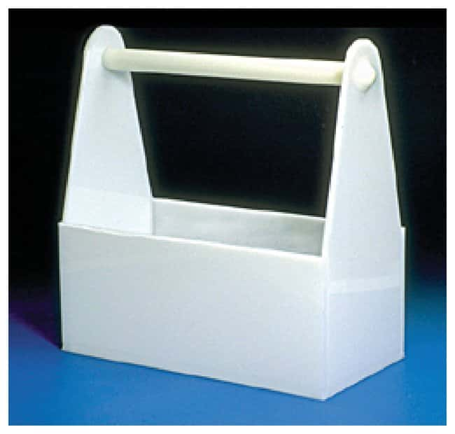 Fisherbrand Polyethylene Safety Bottle Carriers:Racks, Boxes, Labeling