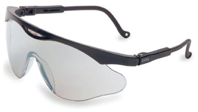 Uvex S2815 Skyper X2 Safety Eyewear, Black Frame, SCT-Reflect 50 Ultra-Dura Hardcoat Lens by Uvex