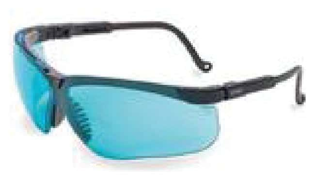 Honeywell Uvex Genesis Protective Safety Glasses Black Frame with SCT-Blue